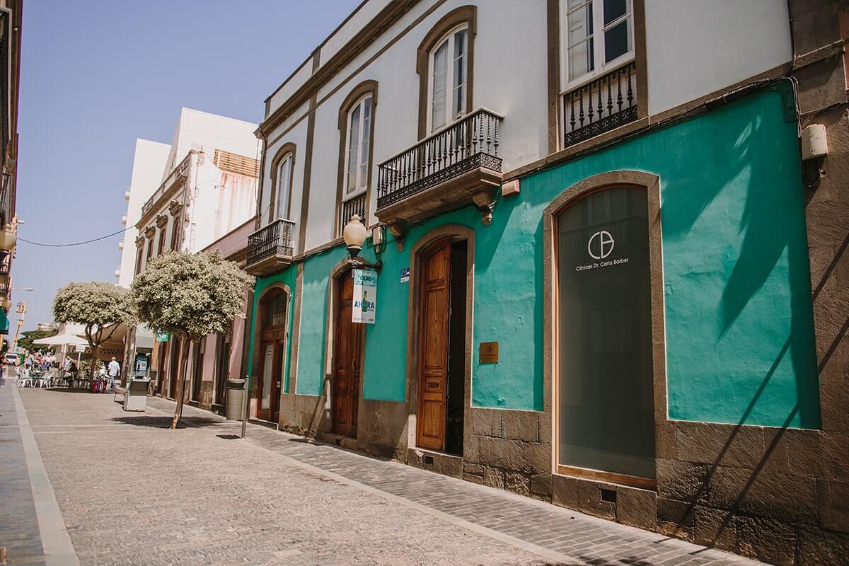 Clínica medicina estética en Las Palmas - Fachada